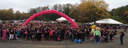 2013 Valley Goes Pink! Breast Cancer Walk