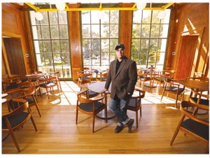 Chris Cannon is bringing a distinctive fine dining experience to the old Vail Mansion in Morristown with his Jockey Hollow Bar & Kitchen. - (PHOTO BY AARON HOUSTON)