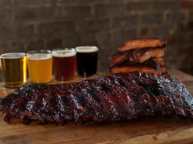 beer bbq bacon showdown