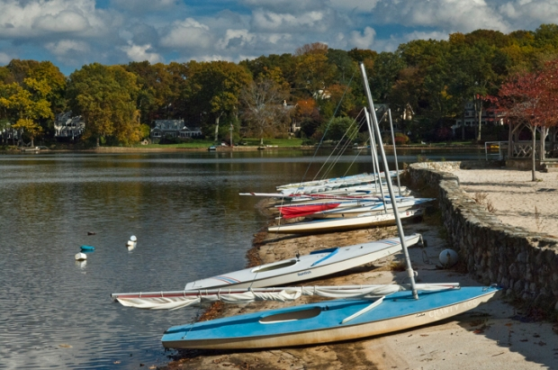 Boats at Island Beach - Mountain Lakes